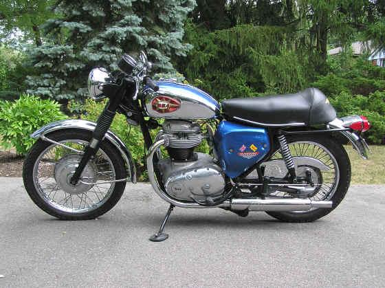 1970 Bsa 650 Thunderbolt