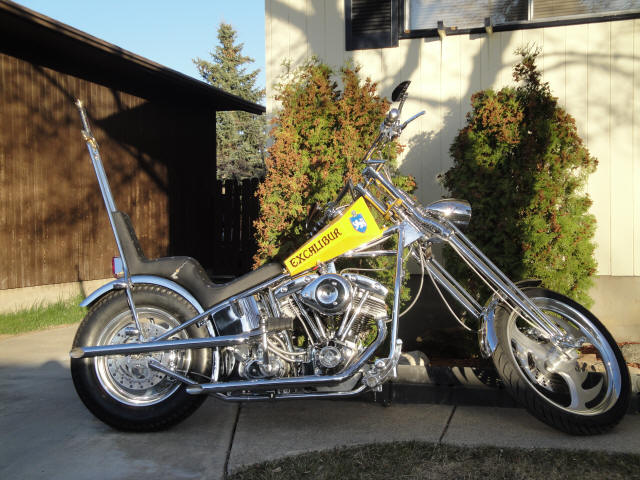 1979 Harley Shovelhead 1200 Chopper