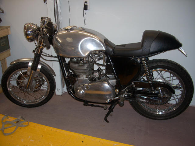 BSA Goldstar Cafe Racer