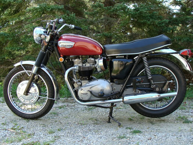 triumph t120 factory repair manual 1959