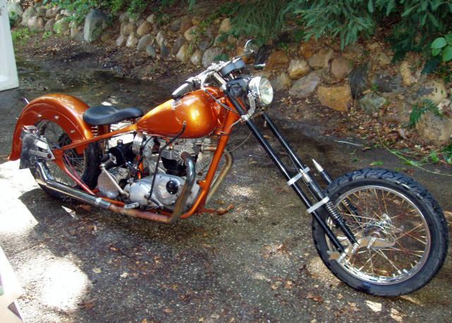 1969 Triumph Bonneville Chopper