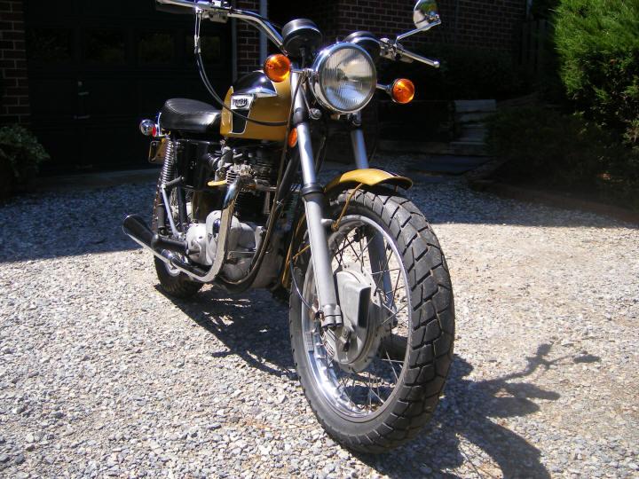 1971 Triumph Bonneville T120R (650cc)