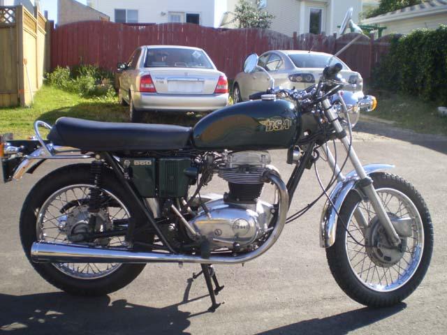 1971 Bsa Thunderbolt 650