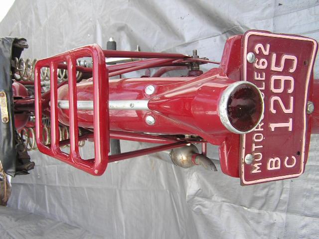 1949 James Comet 98cc Villiers Engine