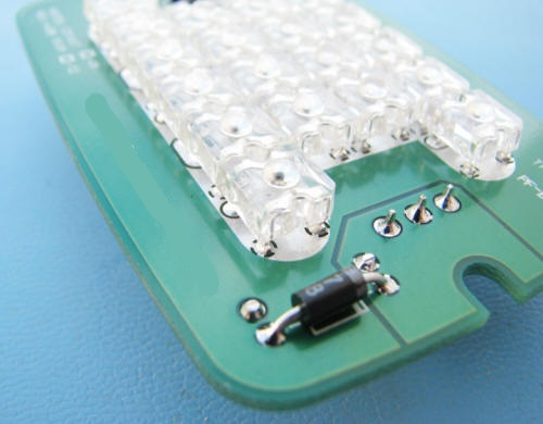 60 7448 A Rectangle Signal Led Conversion Kit Requires