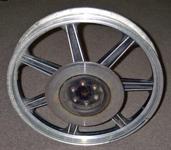 Used Parts Locator >> Triumph T140D Mag Wheels