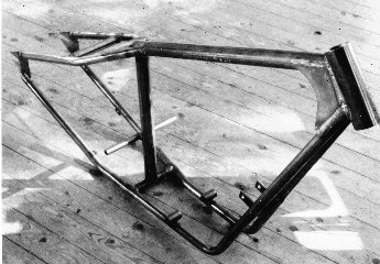 544-Series - Triumph Custom Chopper Frames