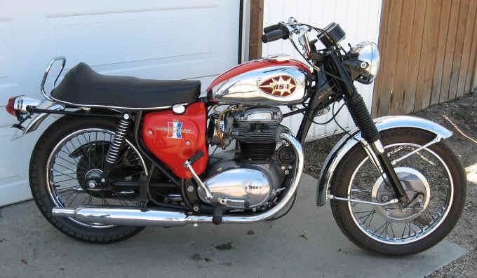1967 BSA Lightning 650