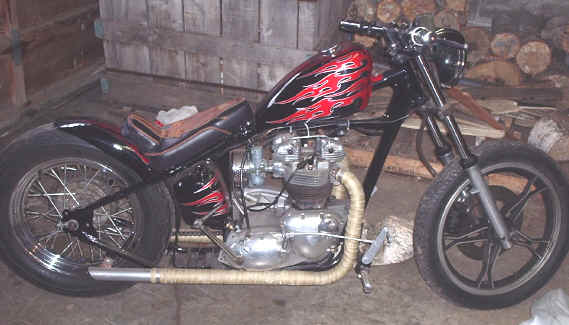 Chopper Motorräder