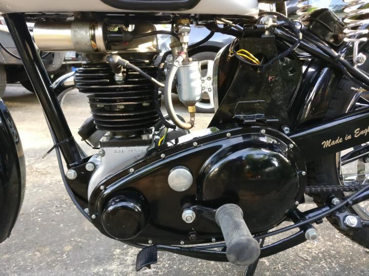 1949 Bsa C11 250cc