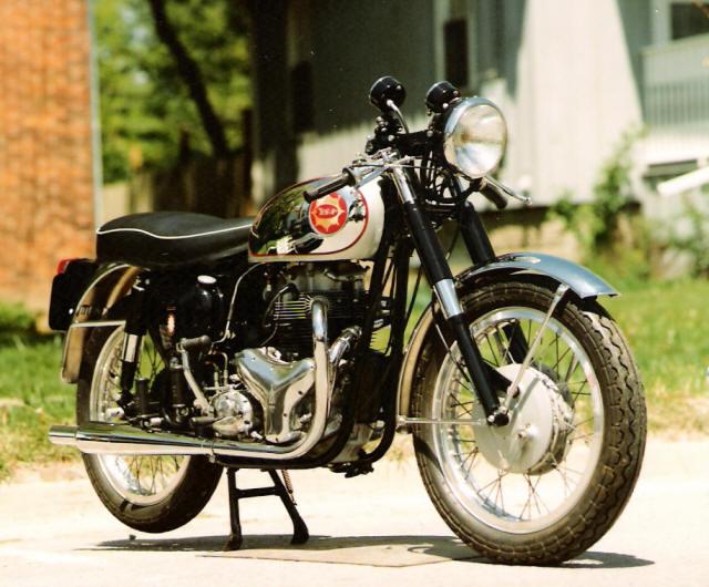Avon Motorcycle Tires >> 1963 BSA Rocket Gold Star