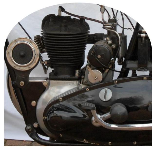 1940 Triumph 350cc 3se